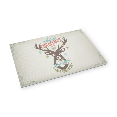 Christmas Deer Paper Placemats -  Christmas - AC-Abbot Collection - Putti Fine Furnishings Toronto Canada - 1