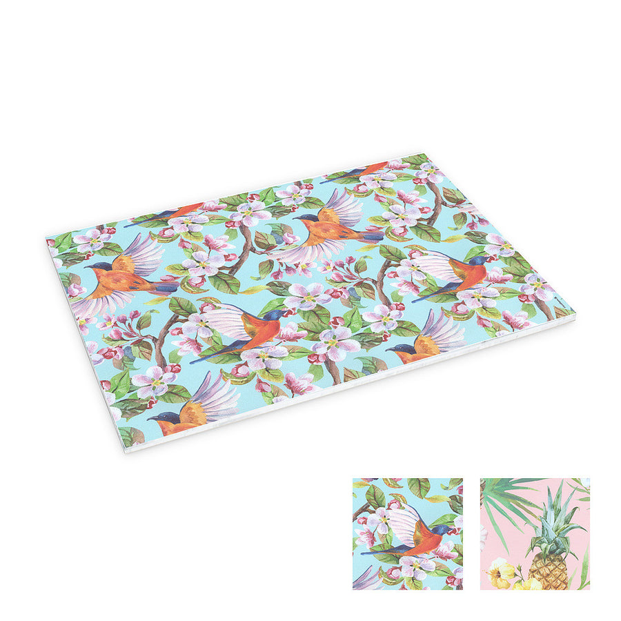 Tropical Birds & Pineapples Table Mats
