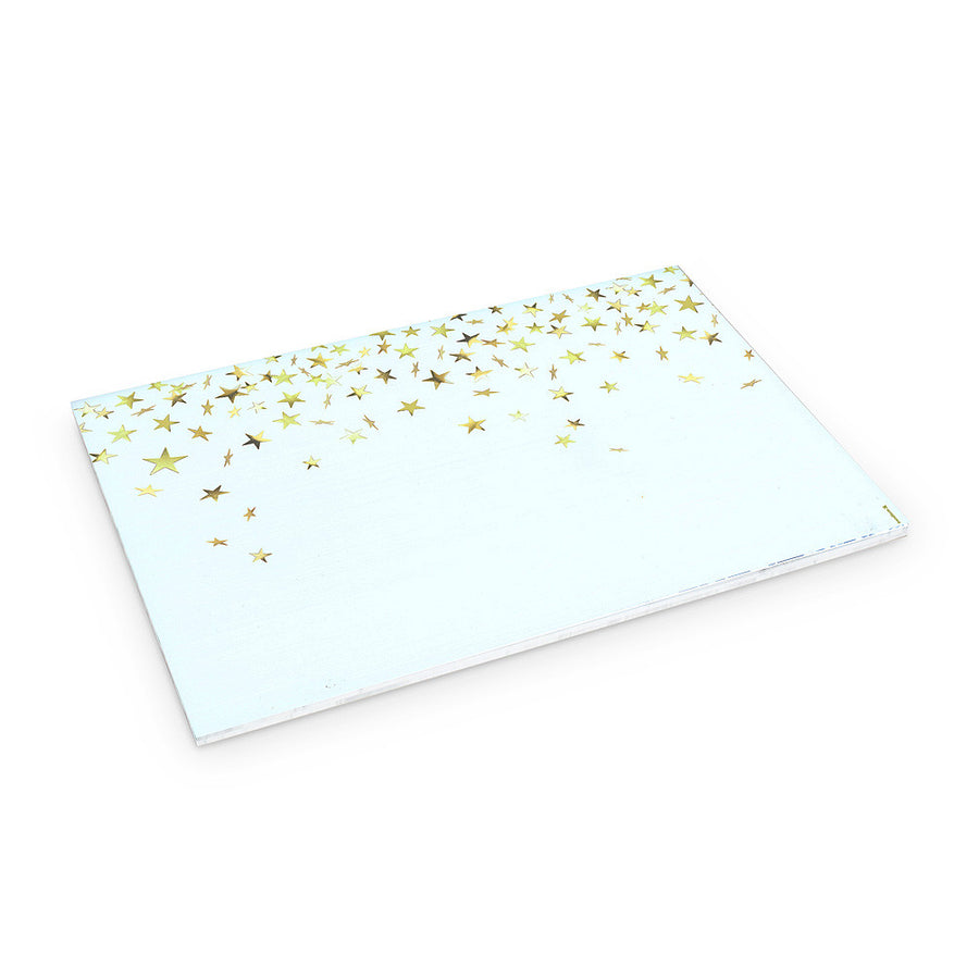 Sparkling Stars Paper Placemats - Gold