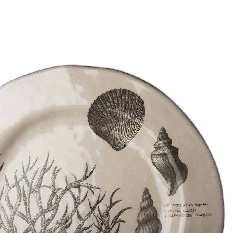 """Beachcomber"" Bamboo Melamine Dinner Plate, TAG-Design Home Associates, Putti Fine Furnishings"