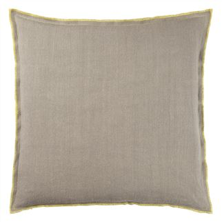 Designers Guild Brera Lino Ochre Decorative Pillow