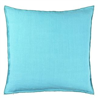 Designers Guild Brera Lino Ocean Decorative Pillow