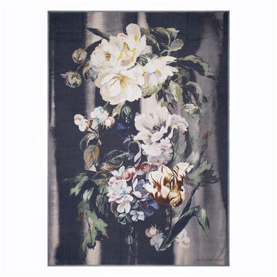 Designers Guild Delft Flower Noir Throw