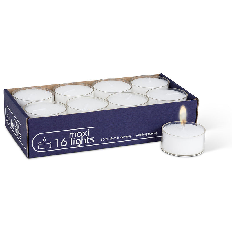 Maxilights - Box of 16 Maxilighs Candles - AC-Abbot Collection - Putti Fine Furnishings Toronto Canada