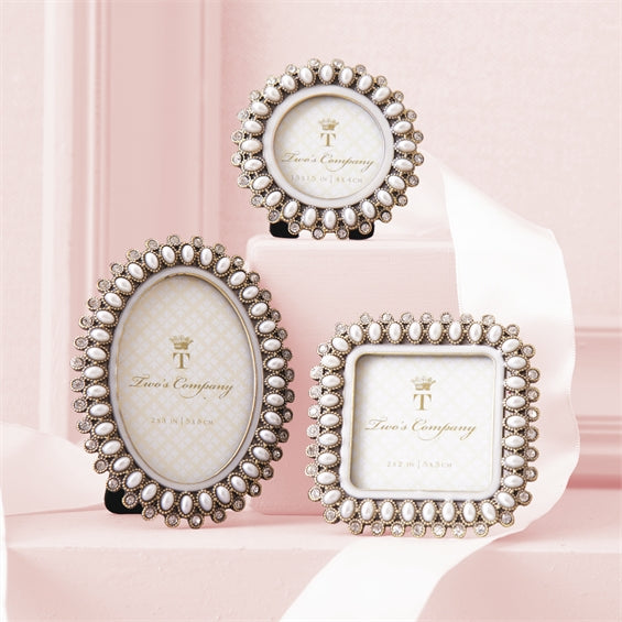 Pearls Mini Photo Frames