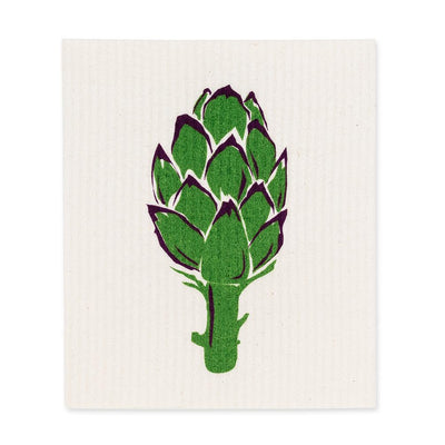 Artichoke Swedish Dish Cloths - Set of 2 | Putti Fine Furnishings