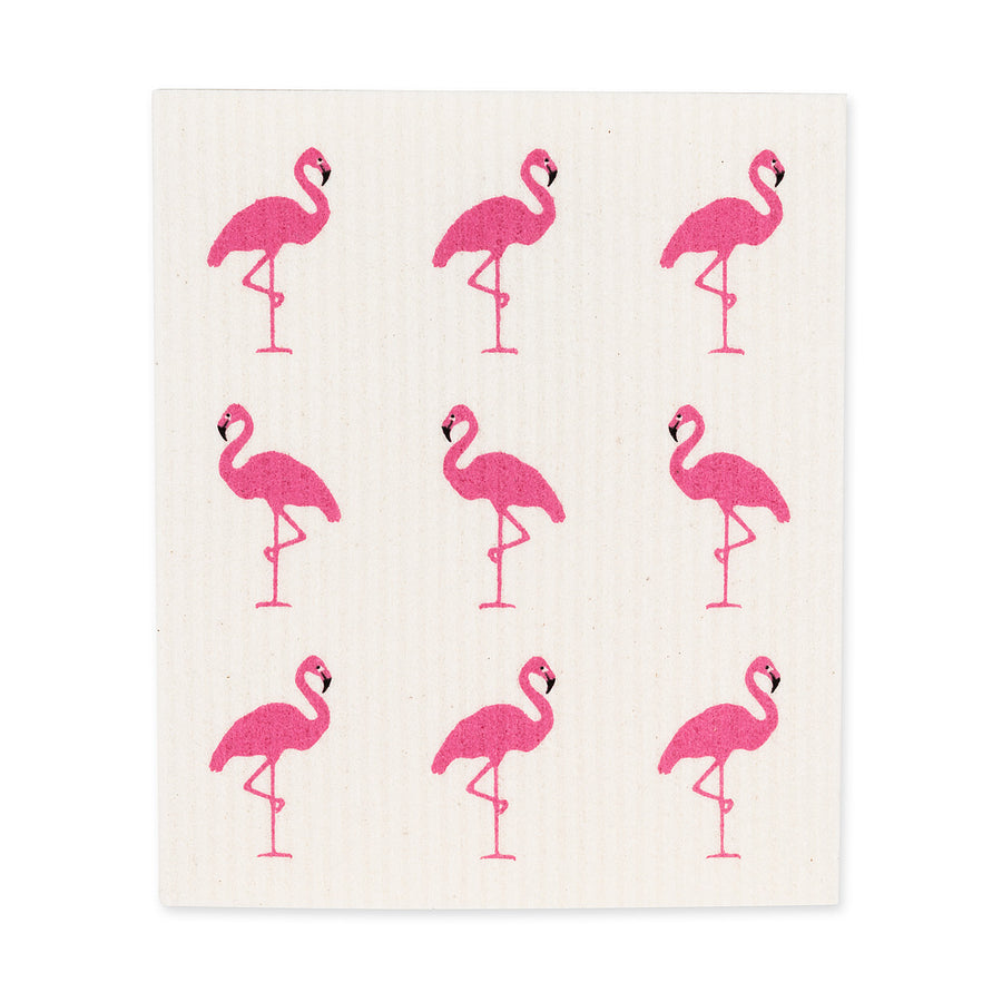 Flamingo Swedish Dish Cloths-Set of 2