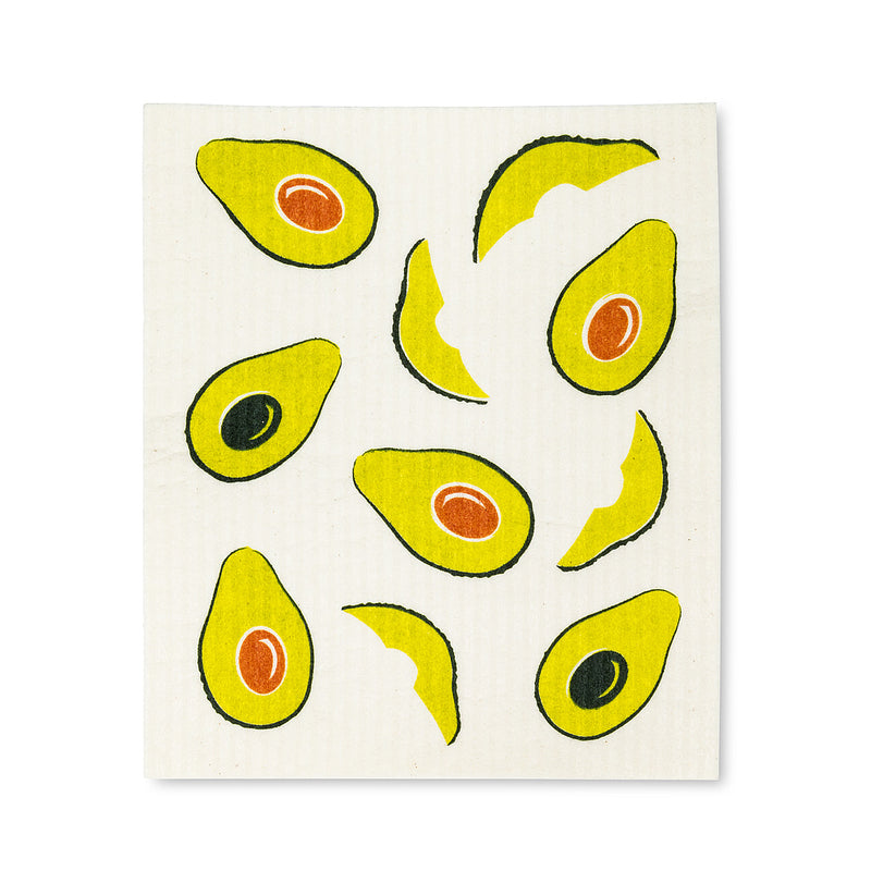 Avocado Swedish Dish Cloths - Set of 2  | Putti Fine Furnishings