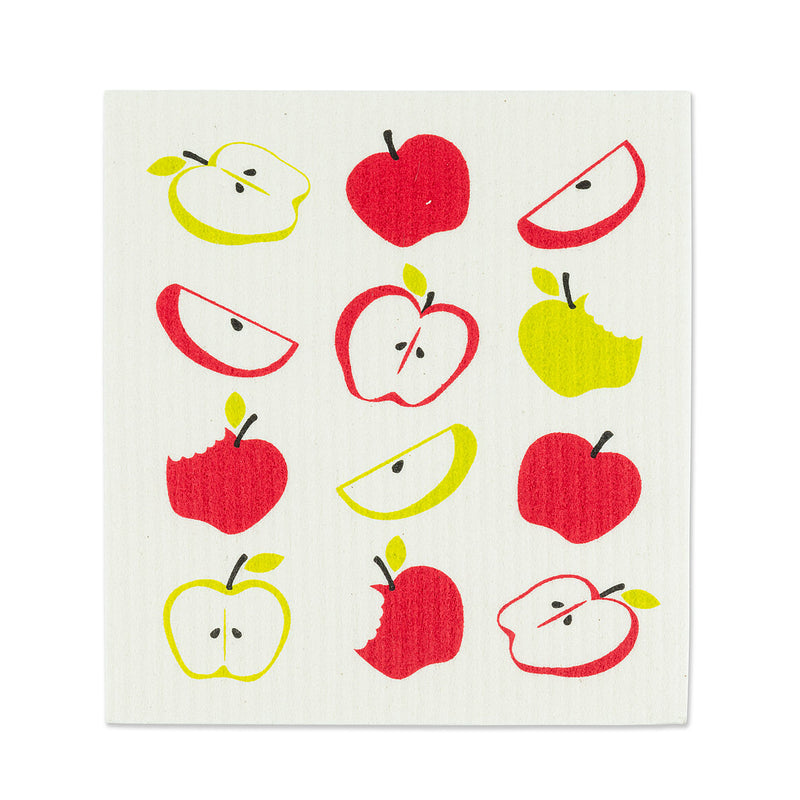 Apples Swedish Dish Cloths - Set of 2 |  Putti Fine Furnishings