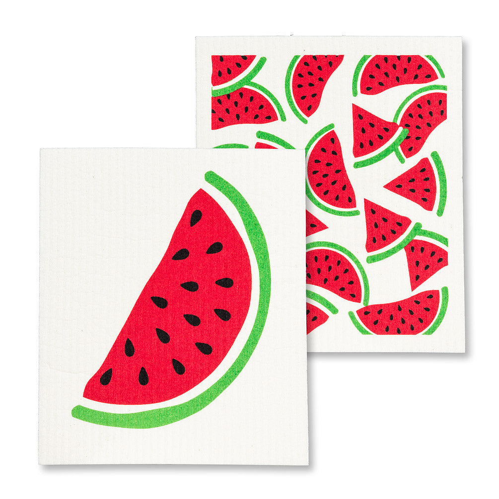 Watermelon Swedish Dish Cloths-Set of 2