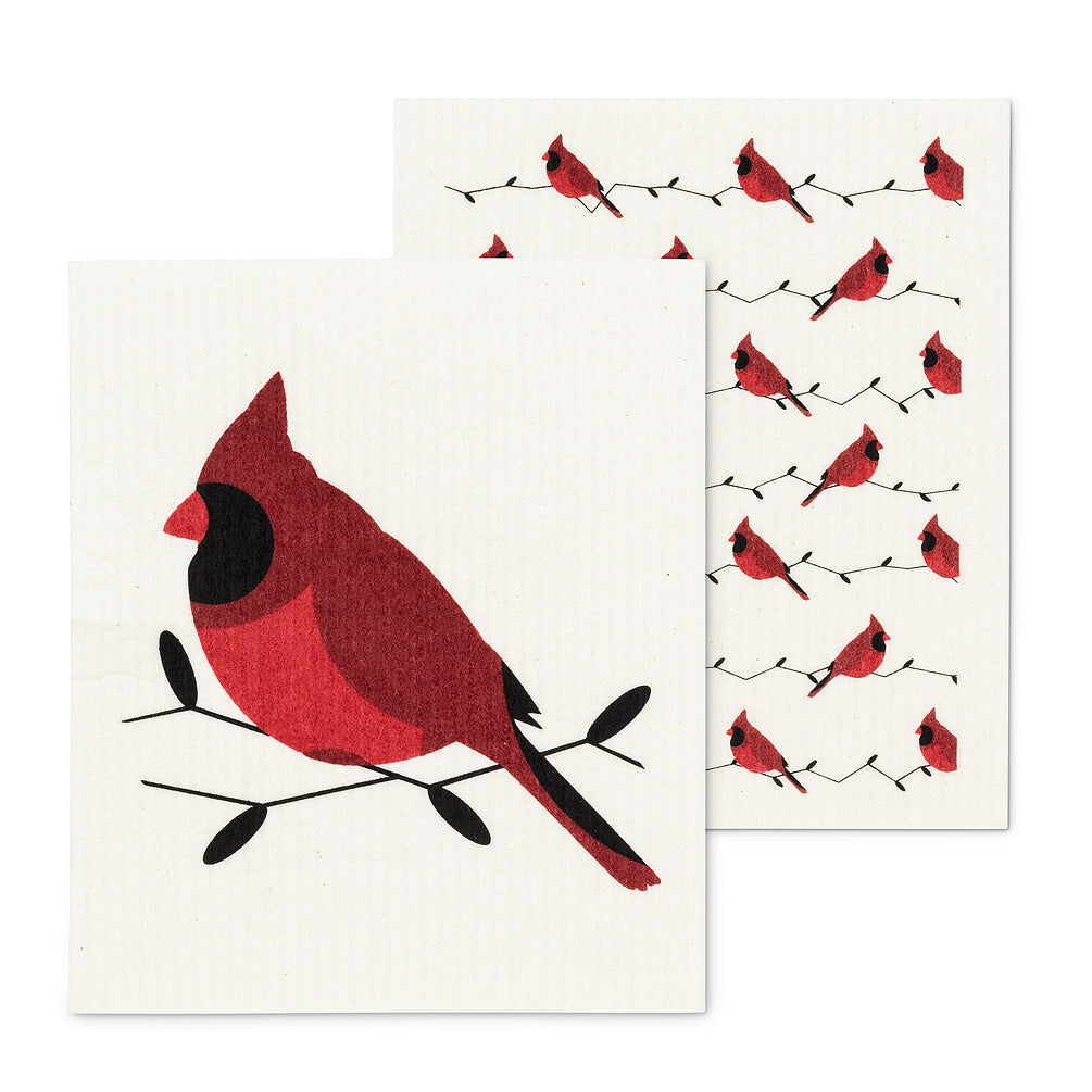 Cardinals Swiss Cloth - set of 2 | Putti Fine Furnishings Canada