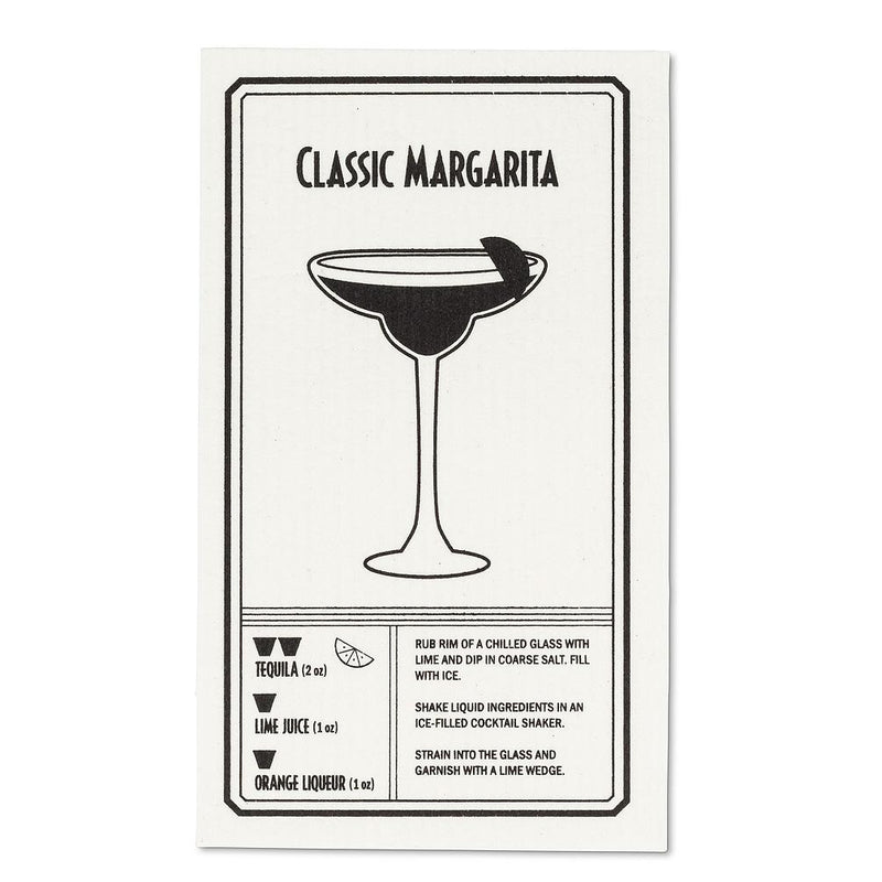 Tequila & Margarita Swedish Dish Cloths-Set of 2 | Putti Fine Furnishings