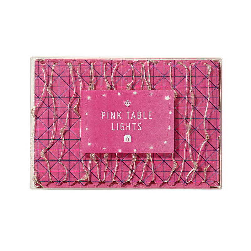Party Time Pink Table Lights -  Party Supplies - Talking Tables - Putti Fine Furnishings Toronto Canada - 1