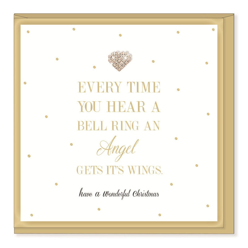 """Every time you hear a bell ring..."" Christmas Greeting Card 
