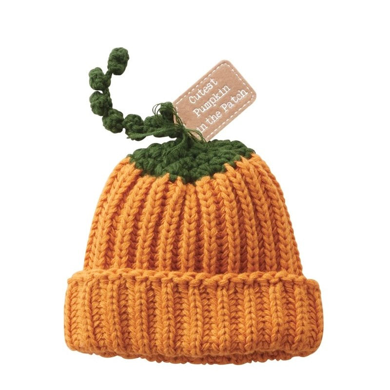 """Cutest Pumpkin in the Patch"" Baby Hat"