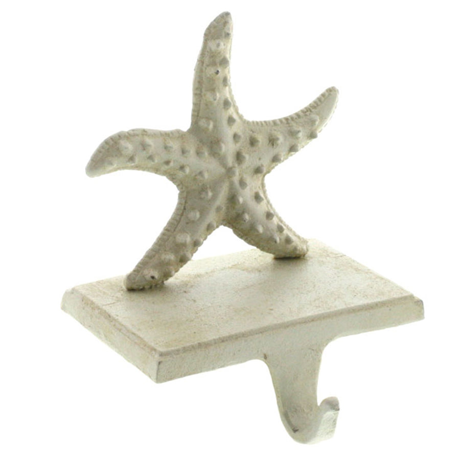 Starfish Stocking Holder - Antique White