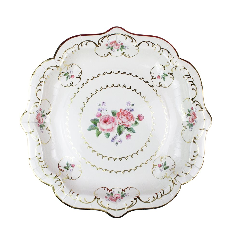 Truly Chintz Paper Plates - Medium
