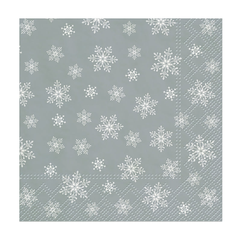 Snowflakes Everywhere Beverage Napkins