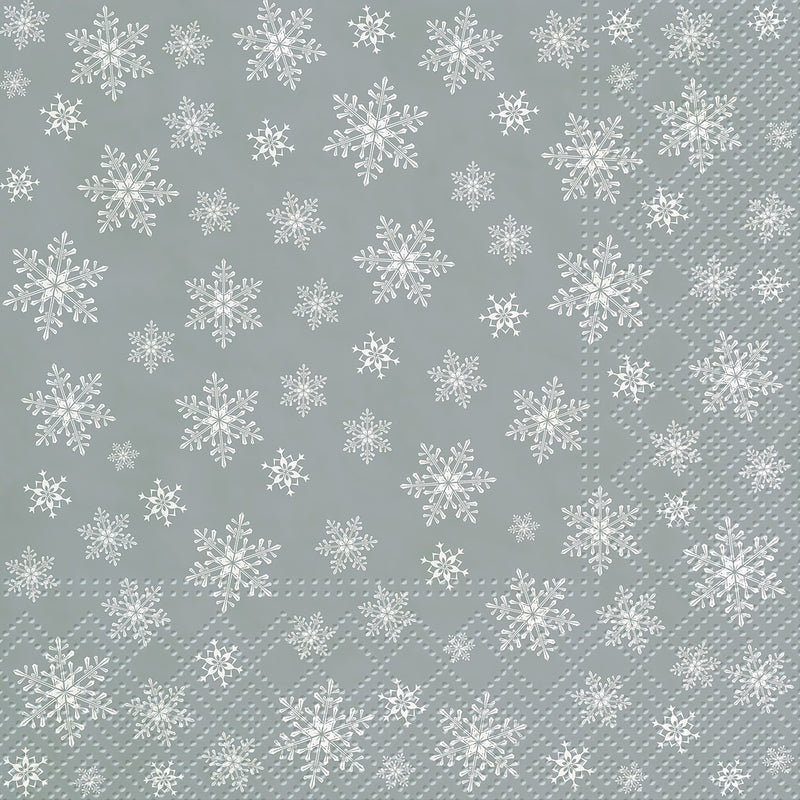 Snowflakes Everywhere Luncheon Napkins