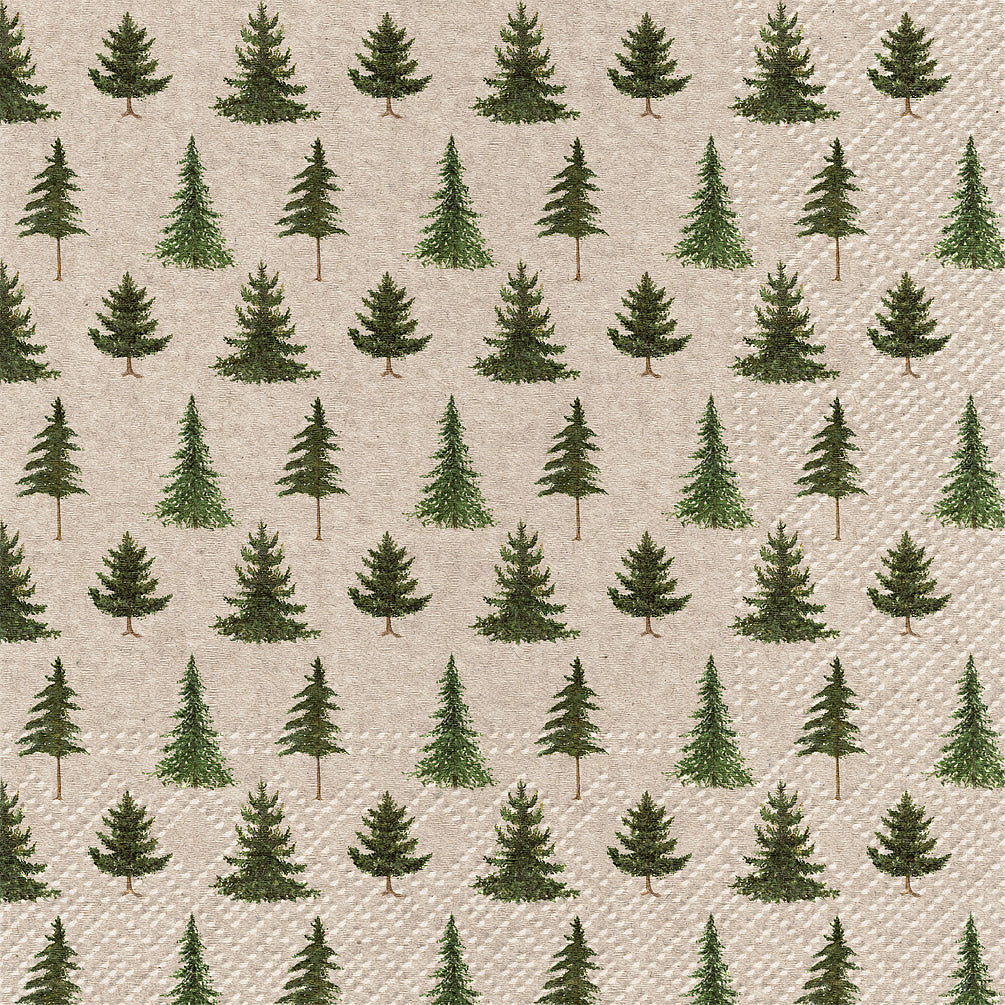 Forest Paper Napkin - Lunch