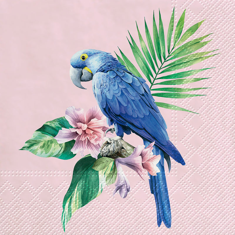 Exotic Parrot Paper Napkin - Lunch