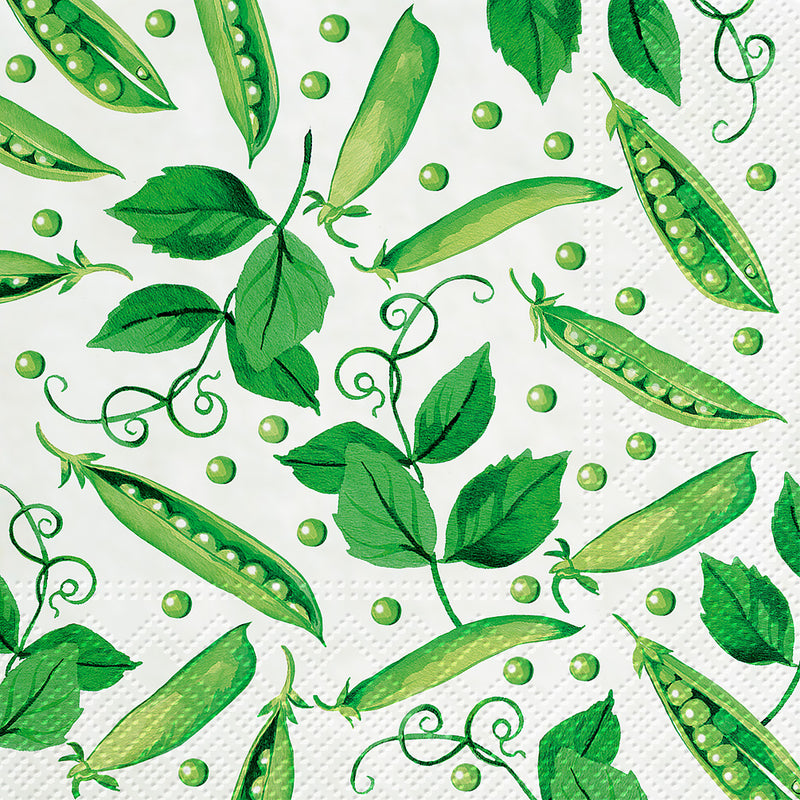 Fresh Pea Paper Luncheon Napkins | Putti Party Supplies