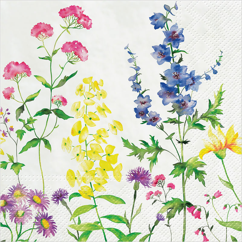 """In My Garden "" Paper Napkin - Lunch, AC-Abbott Collection, Putti Fine Furnishings"