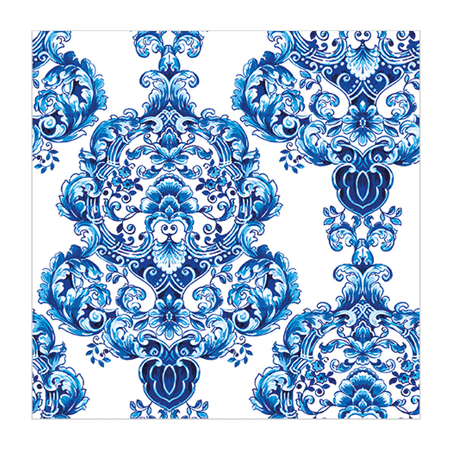 Blue Porcelain Paper Napkin - Lunch