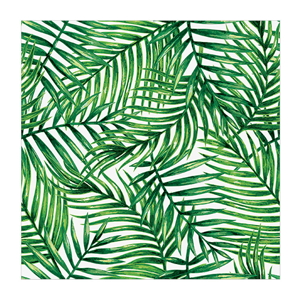 Tropical Leaves Napkin - Lunch, AC-Abbott Collection, Putti Fine Furnishings