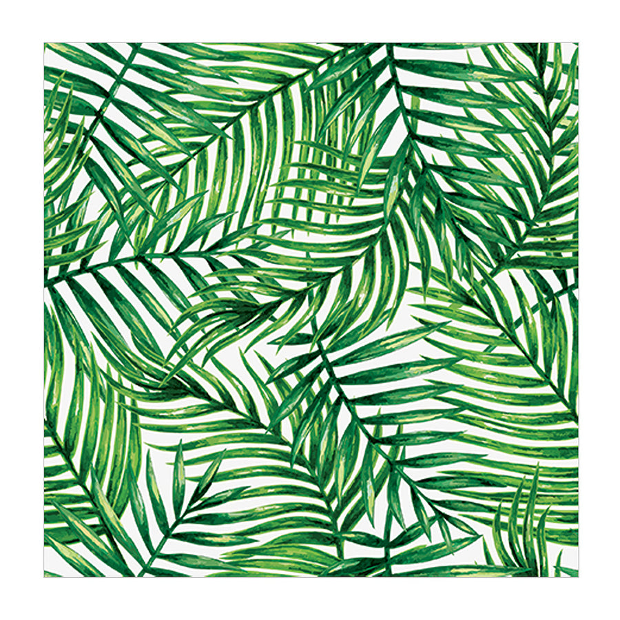Tropical Leaves Napkin - Lunch