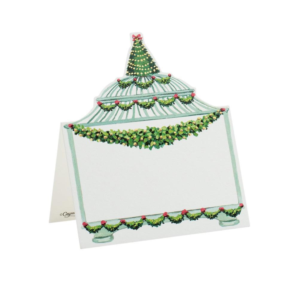 Birdcage Die Cut Place Card | Putti Christmas Canada