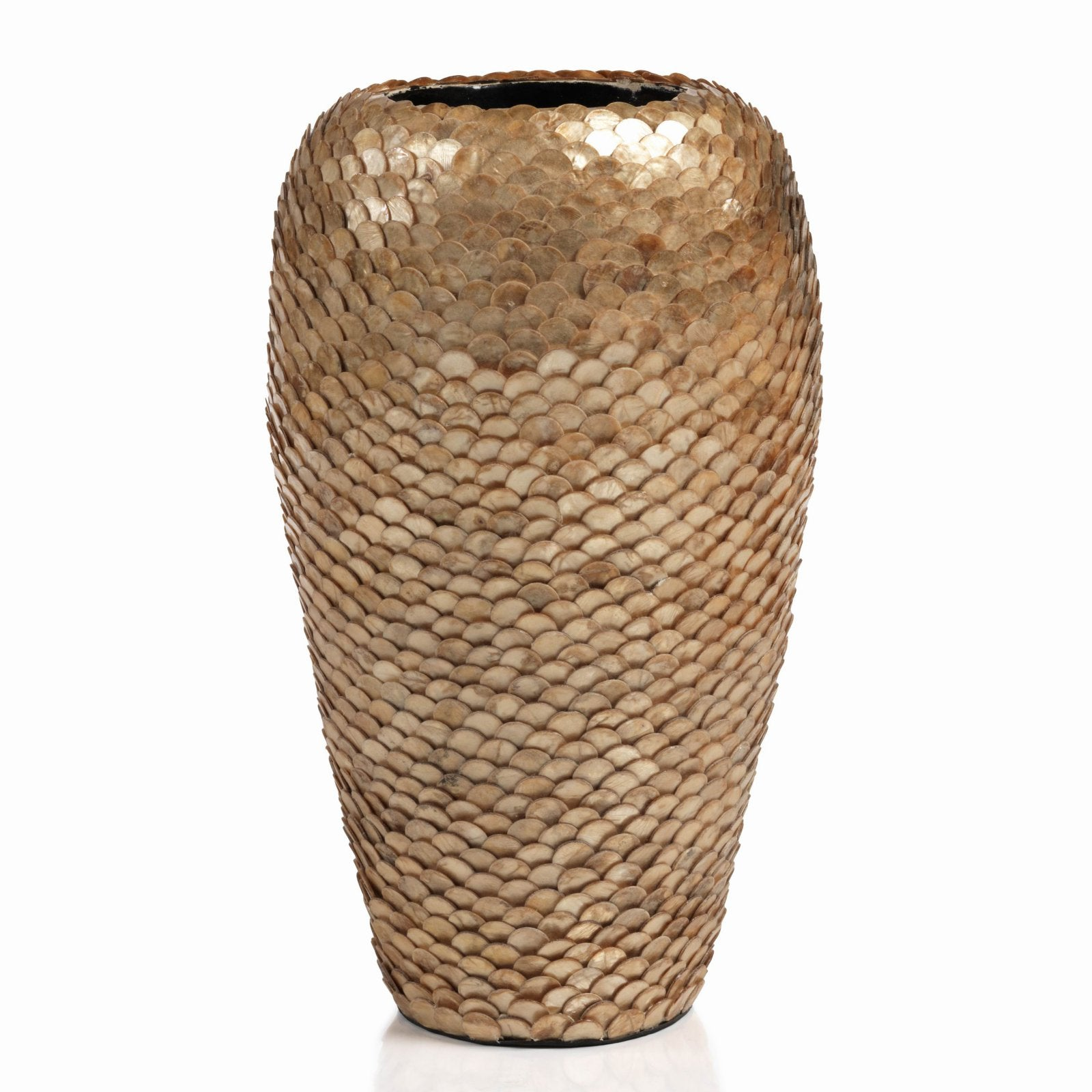 Zodax Seychelles Capiz Covered Vase