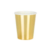 Metallic Gold Paper Cups, TT-Talking Tables, Putti Fine Furnishings