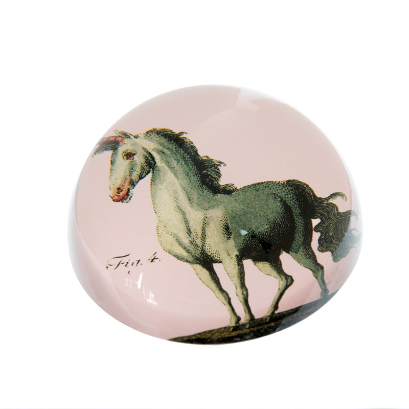 """Unicorn"" Paper Weight-Purse Accessories-IT-Indaba Trading-Putti Fine Furnishings"