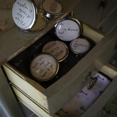 """Creme de la Creme"" Pill Box, IT-Indaba Trading, Putti Fine Furnishings"