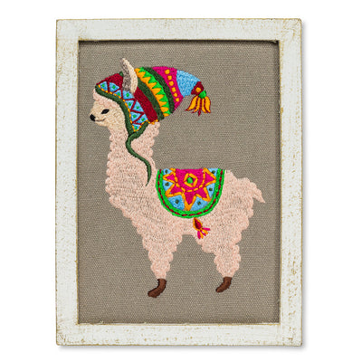 Llama with Hat Wall Art | Le Petite Putti Canada