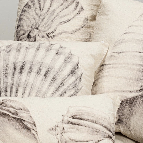 Square Scallop Shell Pillow