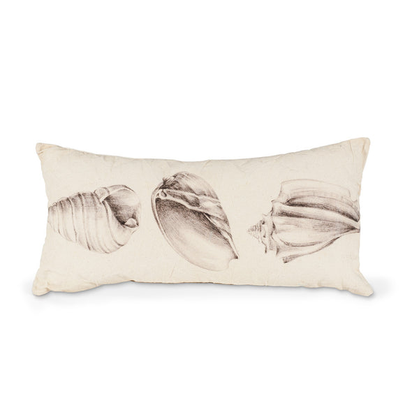 Slim Rectangle Shell Trio Pillow-Soft Furnishings-AC-Abbott Collection-Putti Fine Furnishings