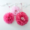 Decadent Garden Pink Flower Poms -  Decorations - Talking Tables - Putti Fine Furnishings Toronto Canada - 2
