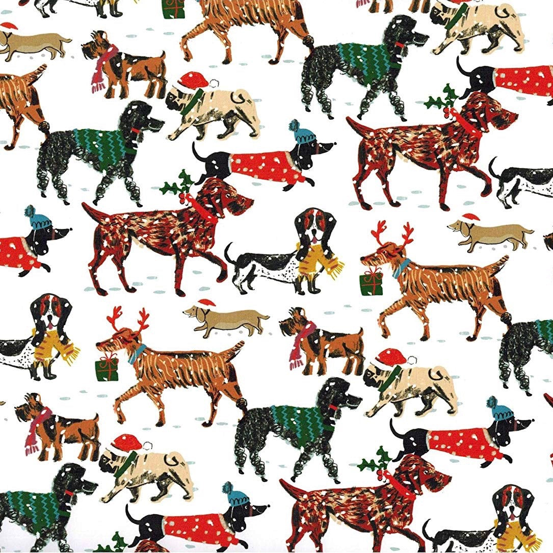 Winter Walkies Christmas Sheet Wrap | Putti Christmas Canada