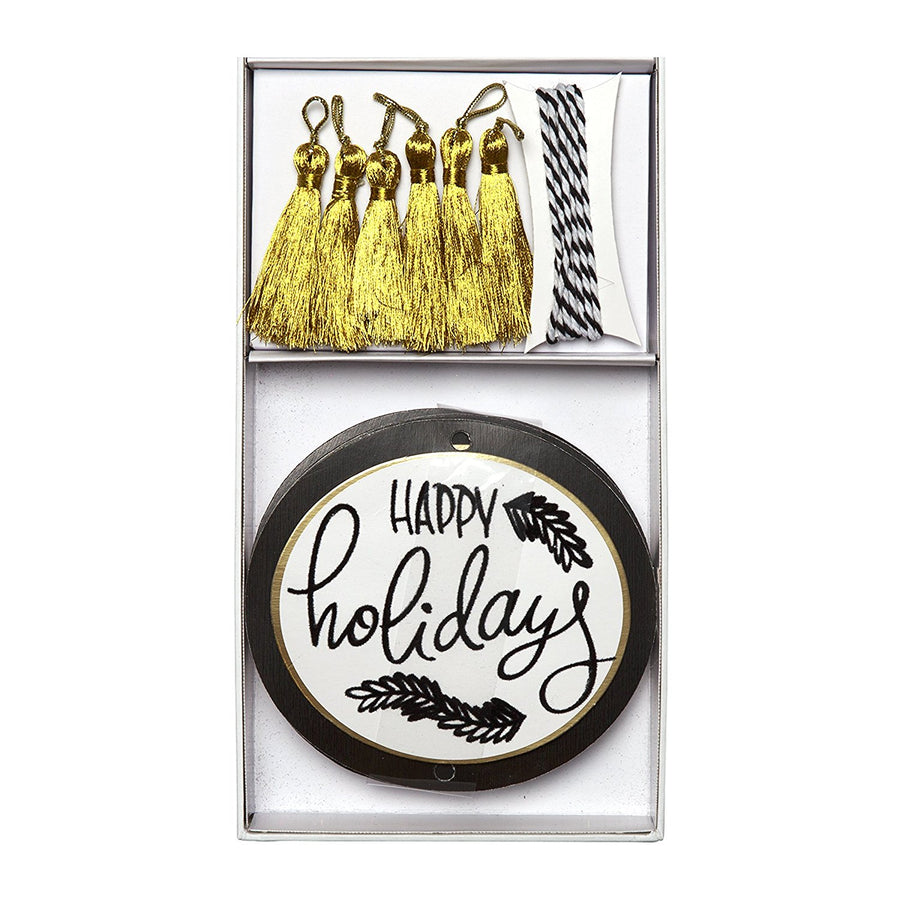 """Happy Holidays"" Gift Tags"