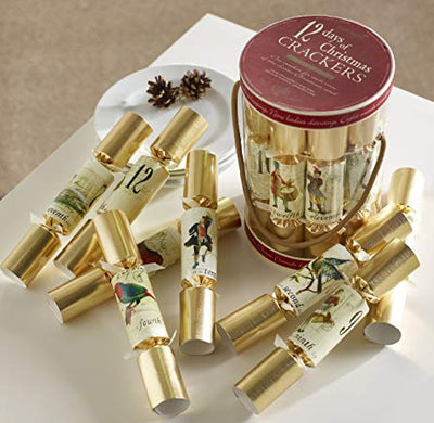 "Robin Reed ""The 12 Days Of Christmas"" Crackers 