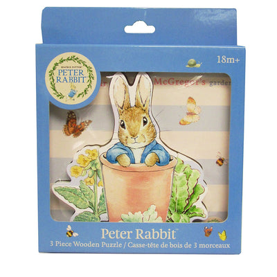 Beatrix Potter Peter Rabbit Wooden Puzzle, KP-Kids Preffered, Putti Fine Furnishings