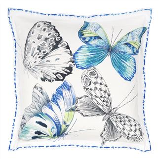 Designers Guild Papillons Cobalt  Bedding, DG-Designers Guild, Putti Fine Furnishings