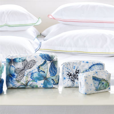 Designers Guild Papillon Toiletry Bag - Medium - Putti Fine Furnishings Canada