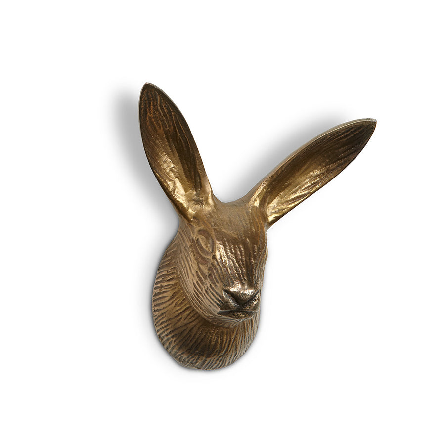 Bunny Wall Hook with Long Ears | Putti Fine Furnishings Canada