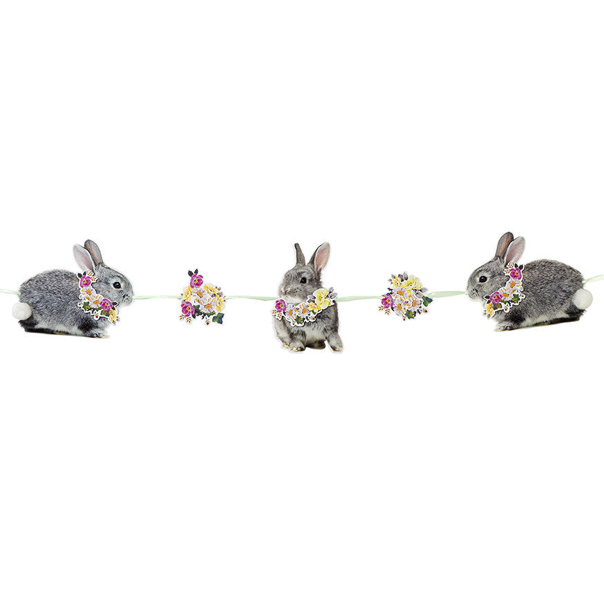 Truly Bunny Bunting -  Easter - Putti Fine Furnishings - Putti Fine Furnishings Toronto Canada - 1