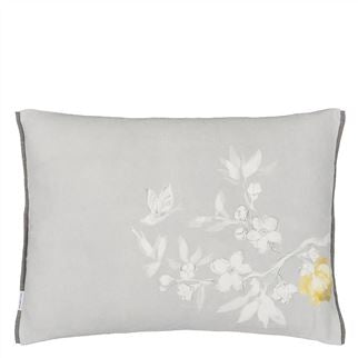 Designers Guild Pontoise Platinum Cushion