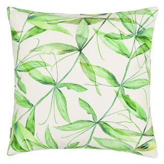 Designers Guild  Palm Botanique Emerald Cushion