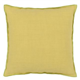 Designers Guild Brera Lino Lime Decorative Pillow